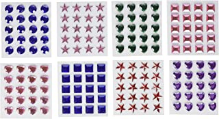 1st Choice Adhesive Back Craft Jewels (500 Assorted Pieces)