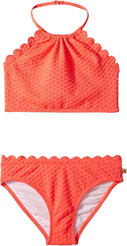 Kate Spade New York Kids Scalloped Two-Piece (Big Kids)