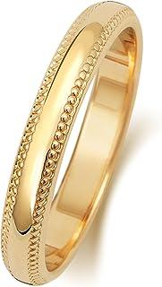 Anello Fede Nuziale Uomo/Donna 3mm in Oro giallo 9k (375) WJS188129KY