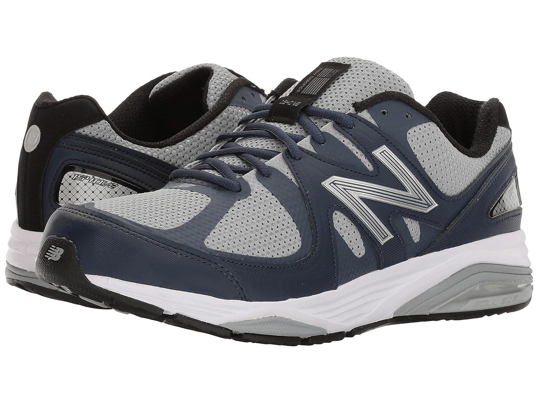 (ニューバランス) New Balance メンズランニングシューズ?スニーカー?靴 M1540v2 Navy/Grey 9.5 (27.5cm) 4E - Extra Wide