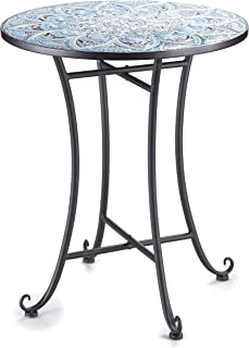 amazon com tile patio table