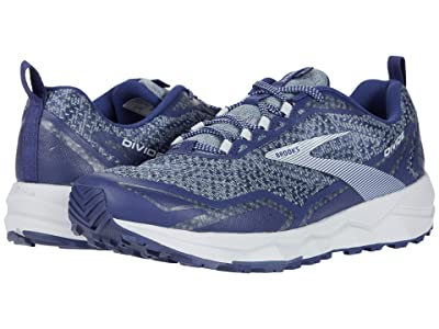 Brooks Divide (Deep Cobalt/Grey/Blue) Men