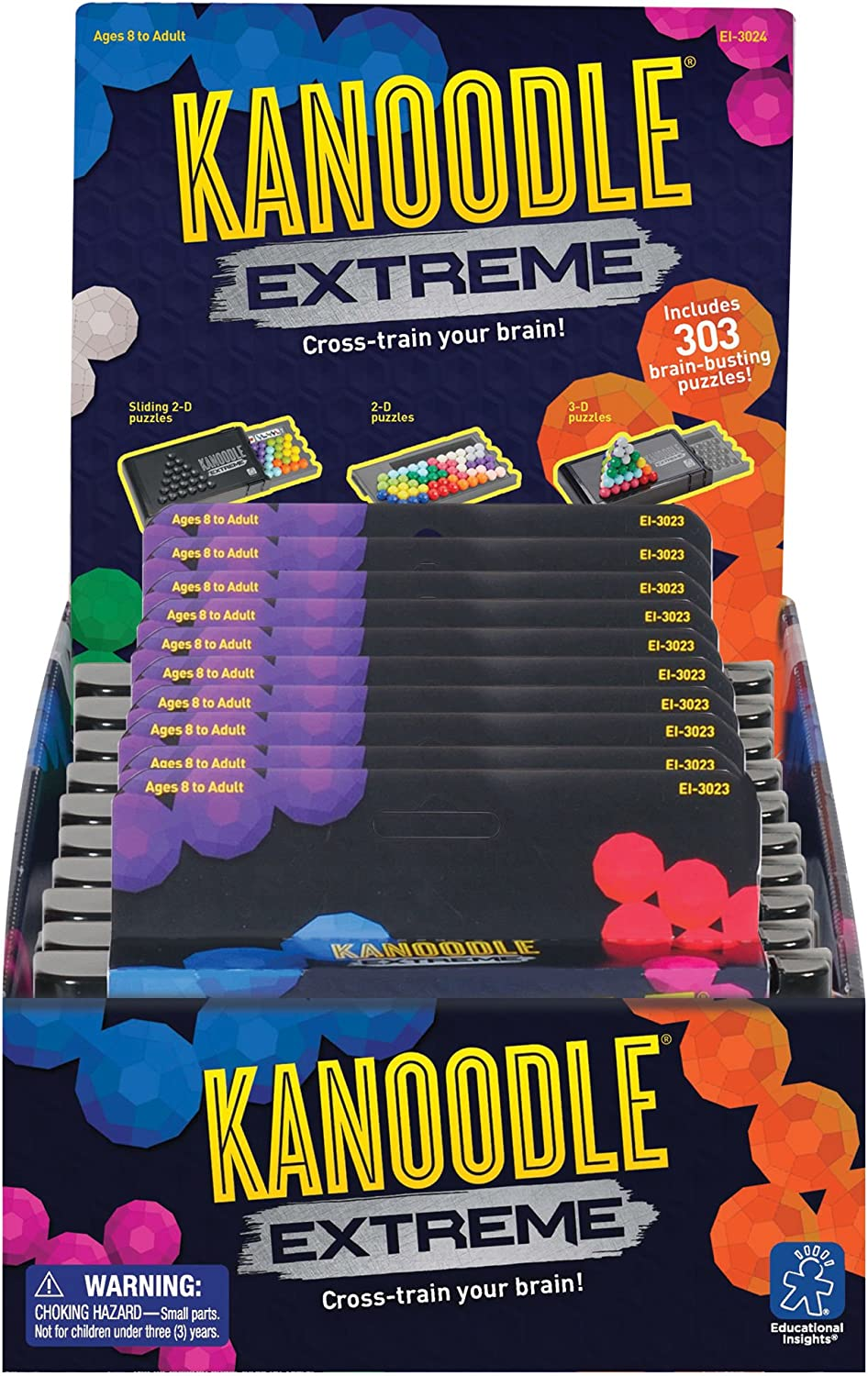 Learning Resources 3024 Kanoodle Extreme Kugelpyramide (Set mit 10Stück)