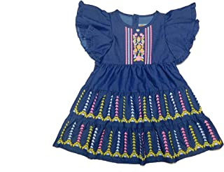 Little Kangaroos Girls A-Line Frock