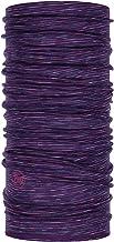Buff Unisex Lightweight Merino Wool Protective Outdoor Tubular Bandana Purple