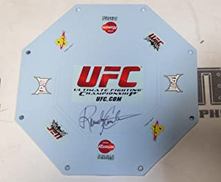 Randy Couture Signed Official UFC Toy Octagon Ring Cage COA Autograph 43 - PSA/DNA Certified - Autographed UFC Miscellaneous Products