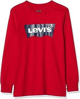 Levi's kids Lvb L/S Batwing Tee Camiseta de manga larga para Niños