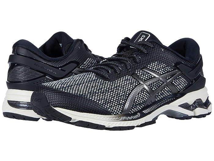 ASICS  GEL-Kayano 26 (Black/Gunmetal) Womens Running Shoes