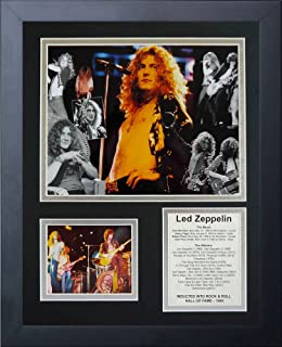 Legends Never Die Led Zeppelin Framed Photo Collage, 11x14-Inch
