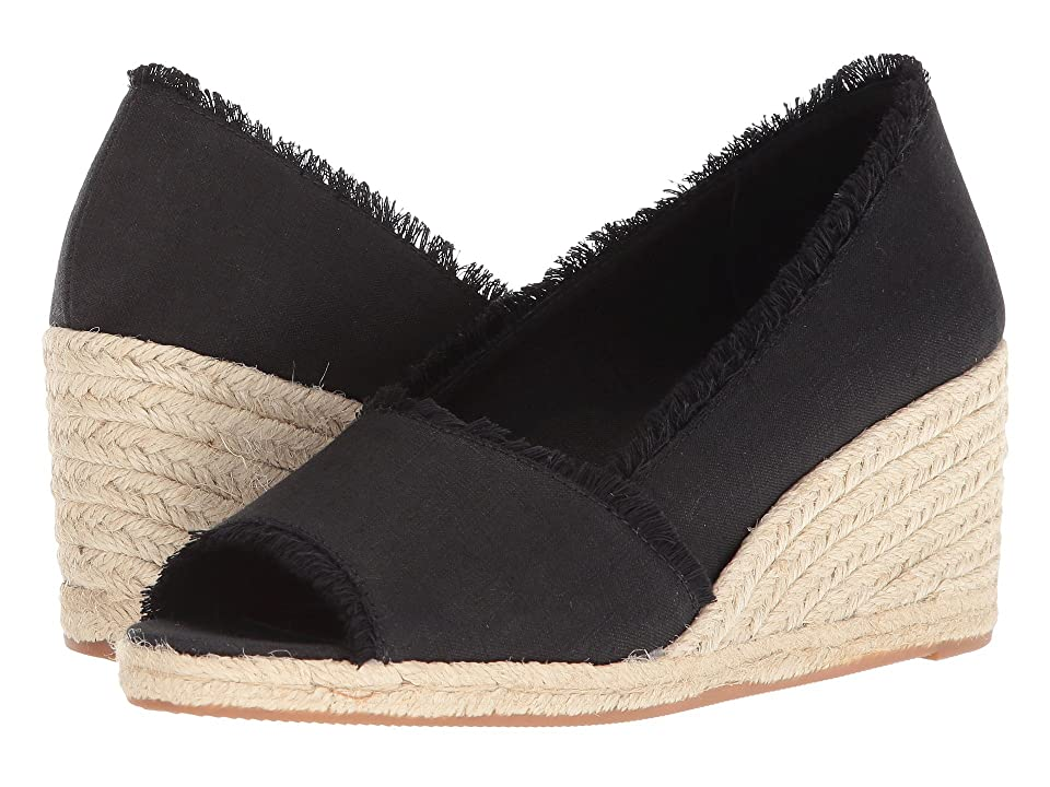 LAUREN Ralph Lauren Carmondy (Black Linen) Women