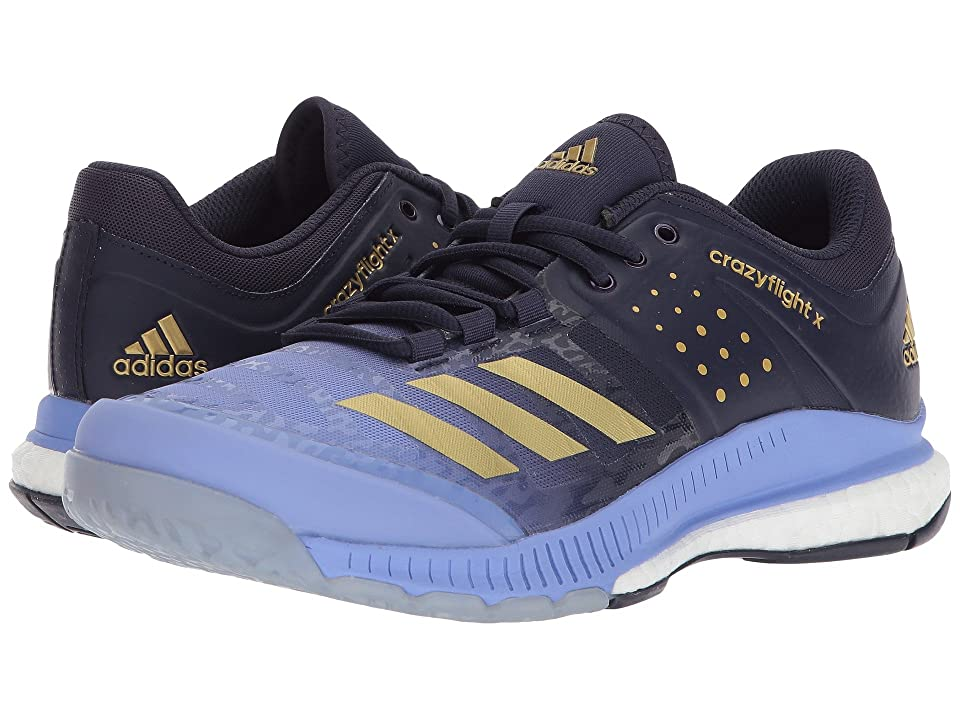 adidas Crazyflight X (Chalk Purple/Gold Metallic/Noble Ink) Women