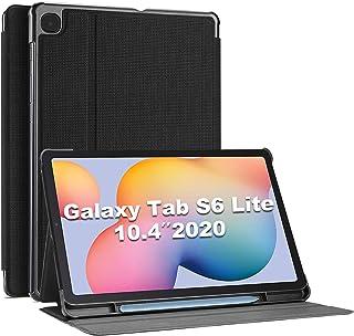 "ProCase Galaxy Tab S6 Lite 10.4 ケース 2020、[S Pen ホルダー付き] スタンド フォリオケース スマートカバー 対応端末:Galaxy Tab S6 Lite 10.4"" 2020発売(SM-P610 ..."