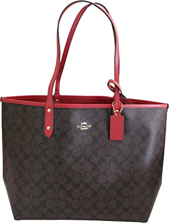 Coach Reversible PVC City Signature Tote f2b82c48a46a3
