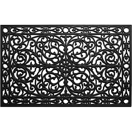 Calloway Mills 900222436 Gatsby Rubber Doormat 2' x 3'