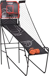 Redline Alley-Oop Single Basketball Shootout with Quick Connect Easy-to-Assemble Frame and Compact Fold-up Design for Easy Storage