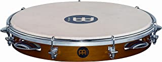 Meinl Percussion PA10CN-M 10-Inch Traditional Wood Pandeiro with Goat Skin Head, Matte Chestnut Finish