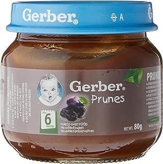 Gerber 1st Foods Prunes, 80g