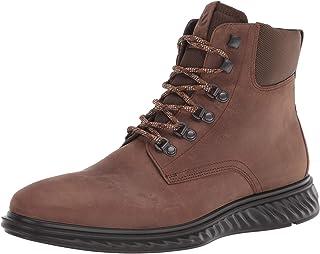 ECCO Men's St.1 Hybrid Lite Cocoa Brown Ankle Boot