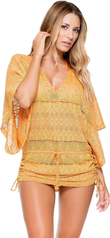 Luli Fama Women's Standard Obsession Cabana V-Neck Dress Cover Up