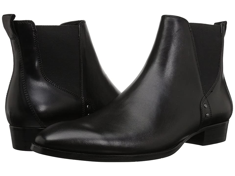 Madden by Steve Madden Simon (Black Leather) Men