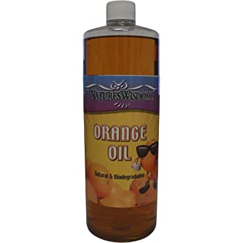 Cold Pressed Orange Oil Concentrate by Nature's Wisdom (D-Limonene) 16 oz (NW8016)