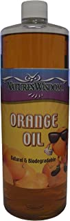 Cold Pressed Orange Oil Concentrate by Nature's Wisdom (D-Limonene) 16 oz
