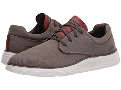 SKECHERS Status 2.0 Burbank (Dark Taupe) Men