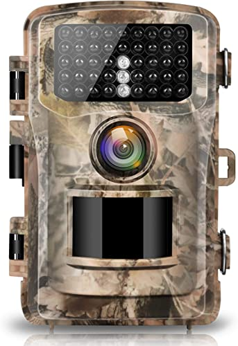 """【2020 upgrade】Campark Trail Camera 16MP 1080P 2.0"""" LCD Game & Hunting Camera with 42pcs IR LEDs Infrared Night Vision..."""