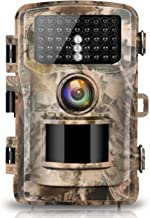 "Campark Trail Camera 12MP 1080P 2.4"" LCD Game Camera Motion Activated Wildlife Hunting Cam IR LEDs Night Vision up to 75ft/23m IP56 Waterproof (New Version)"
