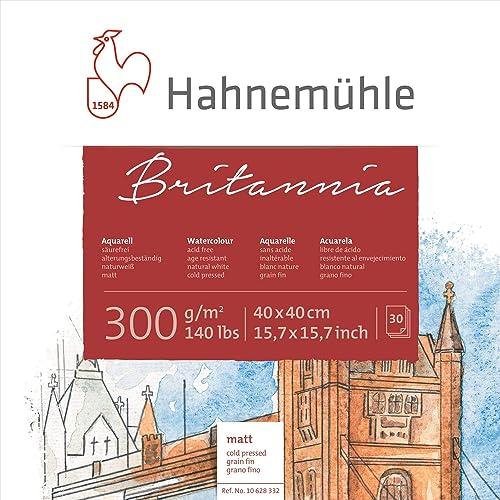 Aquarellblock Britannia  matt 300g m2, 40x40cm, 30Blatt