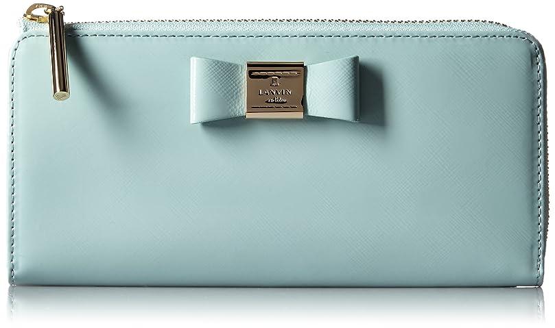 ベール別の排除[ランバンオンブルー] LANVIN en Bleu Amazon公式 正規品 ポリーヌ Lファスナー長財布