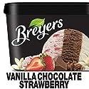 Breyers Ice Cream, Vanilla Chocolate Strawberry, 48 oz