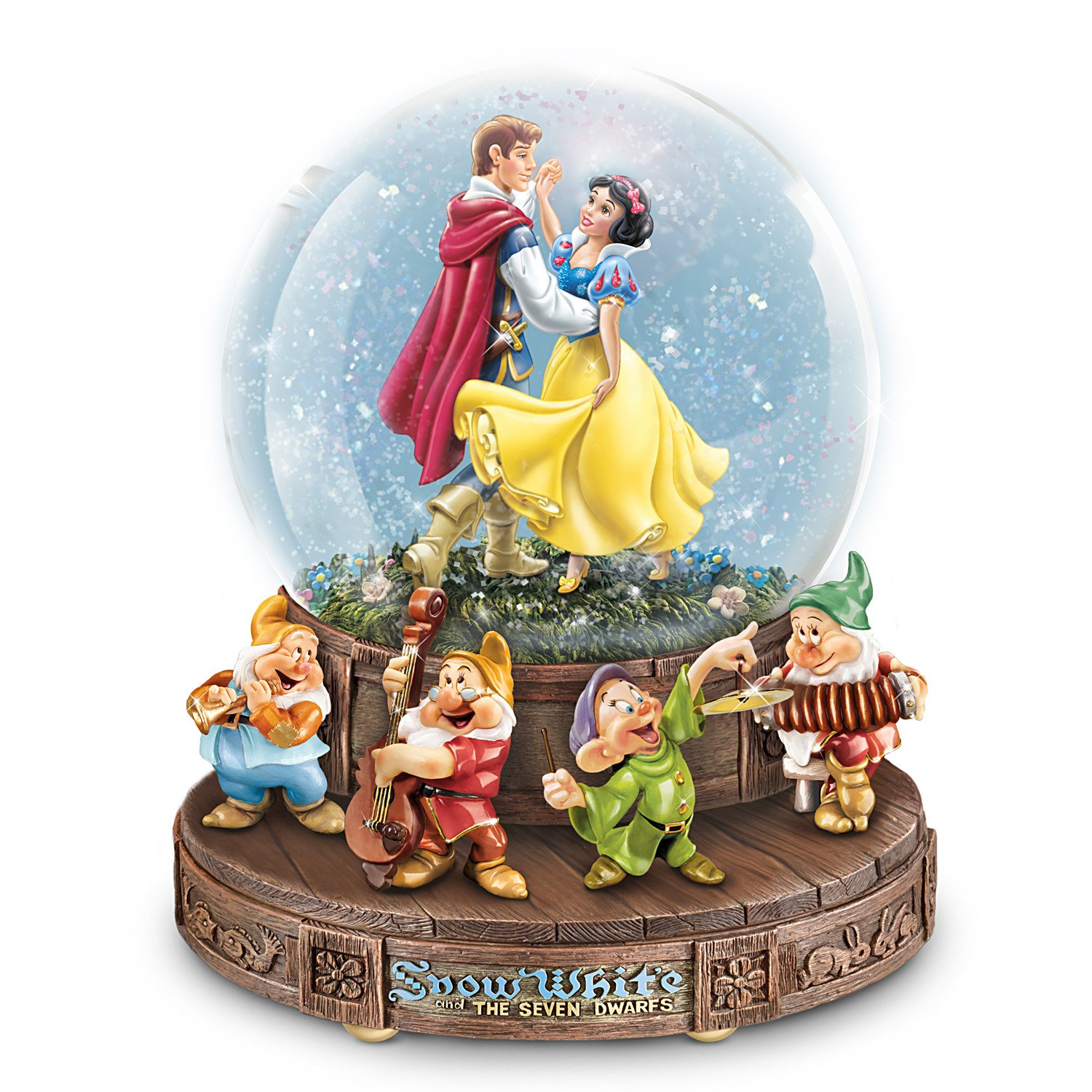 Image of Disney Classic Musical Snow White Water Globe