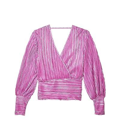 Bardot Trinity Pleat Top (Pink Shine) Women