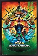"Trends International Marvel Cinematic Universe - Thor: Ragnarok - One Sheet Wall Poster, 22.375"" x 34"", Black Framed Version"