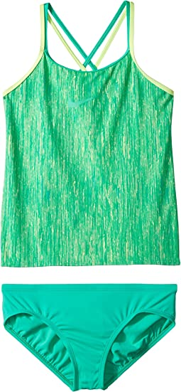 Nike Kids - Rush Heather Spiderback Tankini Set (Big Kids)