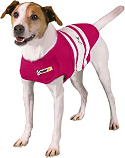 Thundershirt Dog Shirt, Small, Pink Rugby