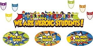 Carson Dellosa Super Power Heroic Students Mini Bulletin Board Set (110314)