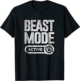 beast mode activated t shirt