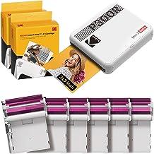 Kodak P300R Mini 3 Retro, Wireless Tragbarer Wireless Drucker für Smartphones (iOS und..
