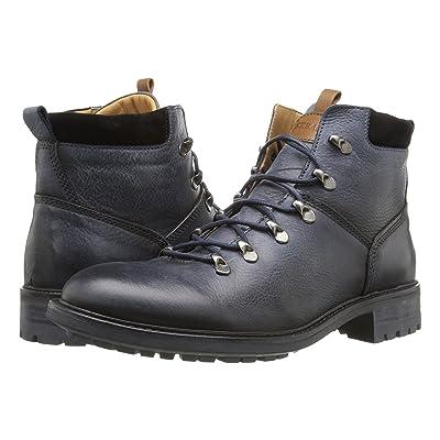 Sebago Soren Hiker (Navy/White Wax Leather) Men