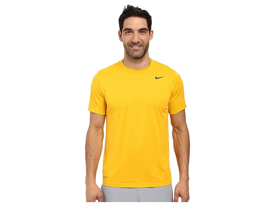 Nike Legend 2.0 Short Sleeve Tee (University Gold/Black/Black) Men
