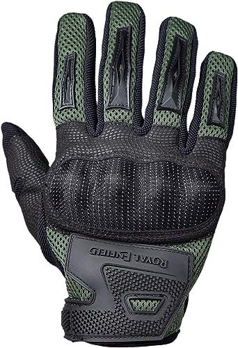 Royal Enfield Rambler Gloves Olive XL 23CM(RRGGLK000034)