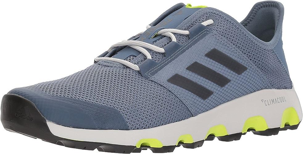 Adidas outdoor Men's Terrex CC Voyager Walking chaussures, raw Steel noir gris one, 10 D US