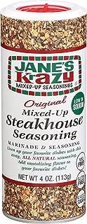 Jane's Krazy Seasonings Mixed-Up Steakhouse Seasoning, 4 Ounce