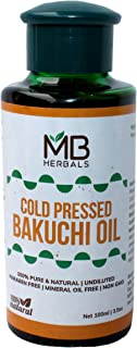 MB Herbals Bakuchi Oil 100ml (3.5 fl.oz) | Babchi | Psoralea corylifolia | 100% Pure & Undiluted | Cold Pressed | for External USE ONLY | USE After Dilution