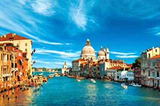 Puzzles for Adults Jigsaw Puzzles 1000 Pieces for Adults Kids – Venice Jigsaw Puzzle Artwork Intellective Educational Toy