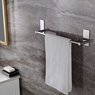 Exceptionnel Taozun Self Adhesive 16 Inch Bathroom Towel Bar Brushed SUS 304 Stainless  Steel Bath Wall