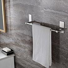 Adhesive Towel Bar, Ceinter Bathroom Towel Holder Stick on Bath Towel Rail Holder No Drill, SUS 304 Stainless Steel 40cm