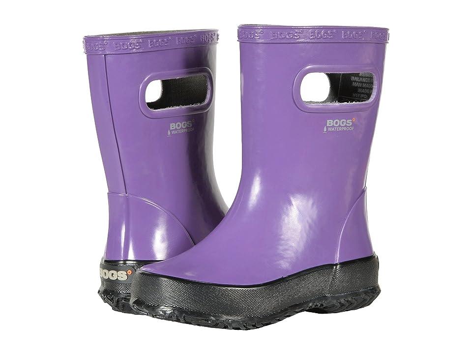 Bogs Kids Skipper Solid (Toddler/Little Kid) (Purple) Girls Shoes